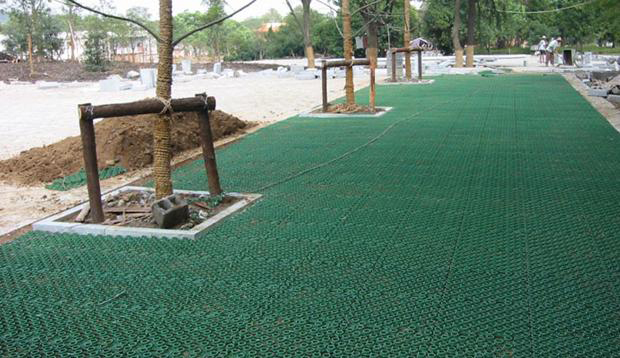 蓄排水板施工图